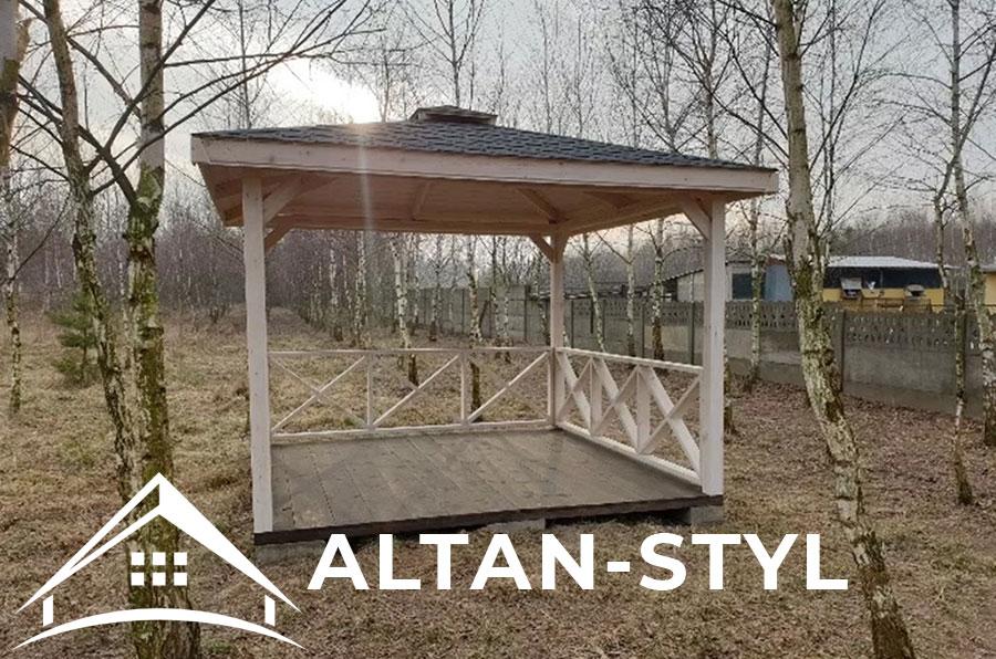 Altana Ogrodowa Marta 3x3m Altan Styl Najlepsze Altanki